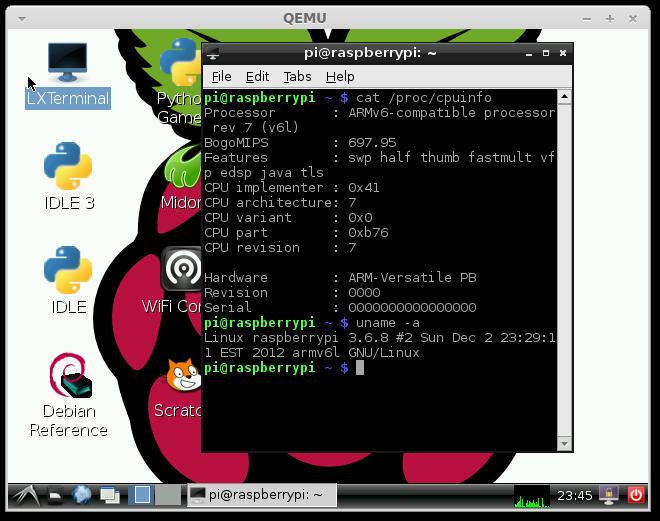 Building Qemu Based RaspberryPI Development Environment · Dash